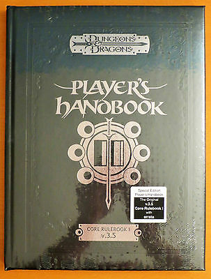 NEW D&D Player's Handbook Special Edition SEALED from 2004