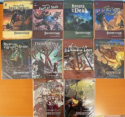 Pathfinder Set of 10 Mid-Level Modules NEW