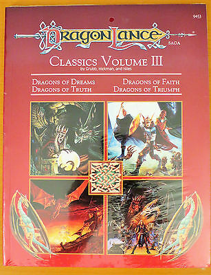 NEW AD&D Dragonlance Classics Volume III SEALED