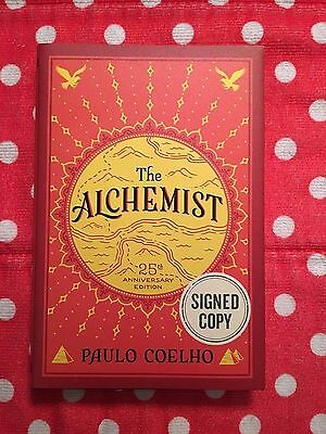 THE ALCHEMIST by Paulo Coelho Signed Copy Hard Cover