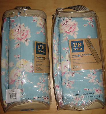 Pottery Barn Teen Sunwashed Floral Sham New In Package.