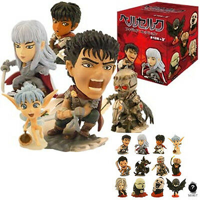 Berserk Figure Collection Set of 13 Types Guts Casca Griffith Japan Anime