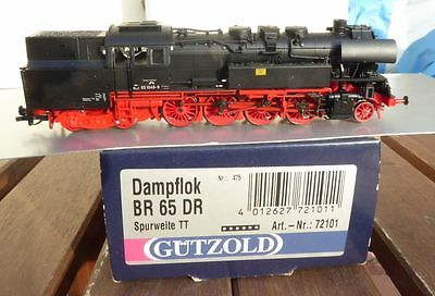 Gützold 72101 TT Towing Tank Steam Locomotive BR 65 1049-9 the DR Ep. 4 valuable