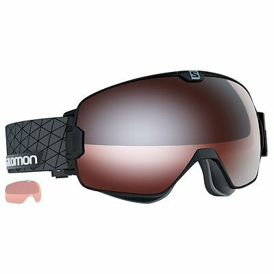 Masque de ski Xmax Access Blk/solar T.orange Salomon