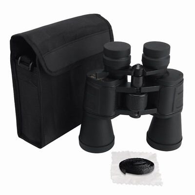 AU 50mm Tube 10-180x100 HD Resolution Night Vision Super Zoom Binoculars Black