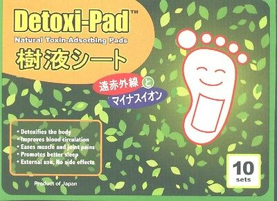 Detox Foot Pads Remove Accumulated Toxins & Detoxify Body