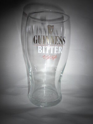 Guinness Tulip Pint Glass New and Unused Rare
