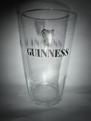 Guinness Pint Glass New and Unused
