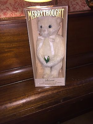 """Merrythought """"Diana"""" Bear 434 of 2500 New In Box"""