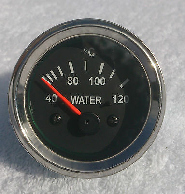 52mm Electric Water Temperature :Range 0- 120 C Chrome Bezel Quality made