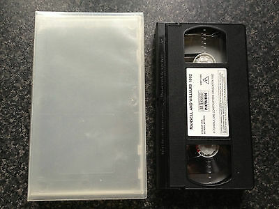 Mansell And Williams 1992 - Vhs Video