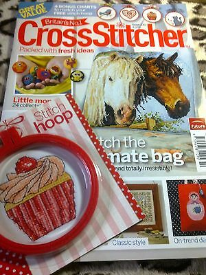 Cross Stitcher Magazine + Free Gift Included. Issue October 2010