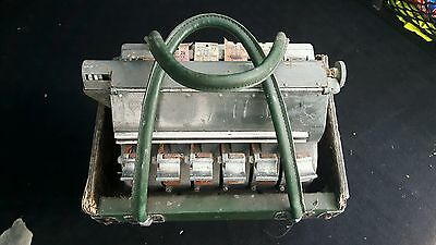 Old bell punch company solomatic bus ticket machine