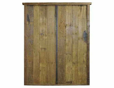Antique Rustic Double Door #D1041