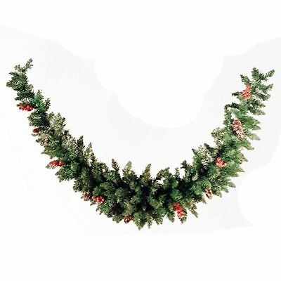 Sherwood Frosted Garland Swag Christmas Indoor Festive Decoration Xmas 1.8m