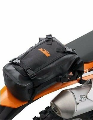 New Ktm Universal Water Resistant Rear Fender Bag Exc Xc Sx Sxf Sxs Exc
