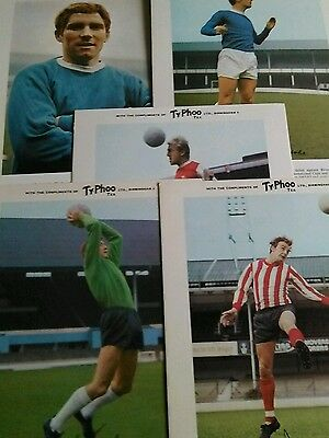 5 x TYPHOO TEA FOOTBALL CARDS ALL MINT CONDITION BARGAIN EVERTON/ARSENAL/ETC