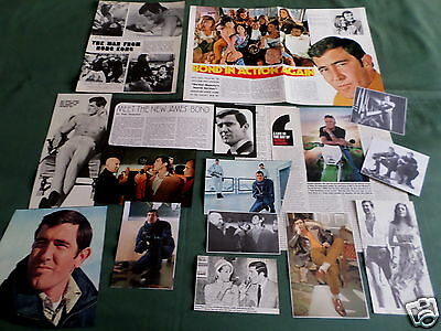 "George Lazenby - Film Star - ""clippings /cuttings Pack"""