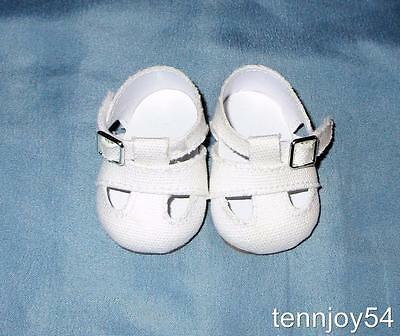 American Girl Classic Kit's Canvas Meet Shoes / Sandals Retired NEW *Free Ship*
