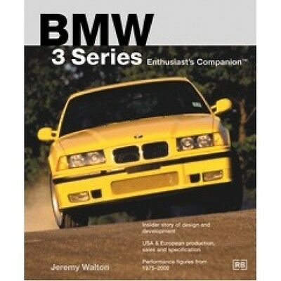 BMW 3 Series Enthusiasts Companion book paper car