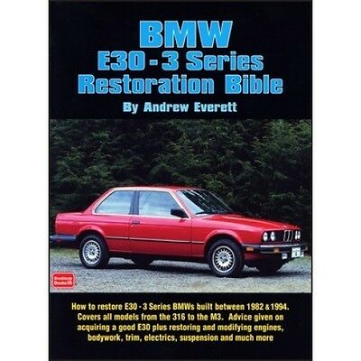 BMW E30 3 Series Restoration Bible book paper