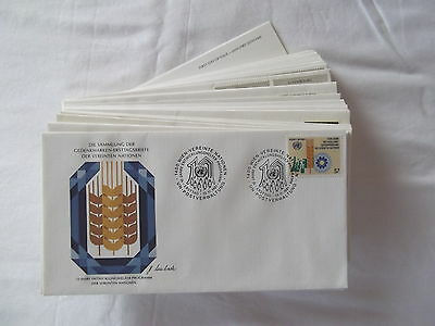 United Nations commemorative first day cover collection. See pics in listing.