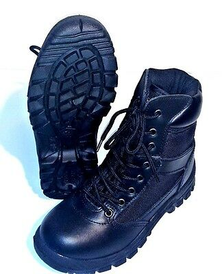Rothco, Black Vietnam Style Jungle Boots 4R, Excellent, Free Shipping