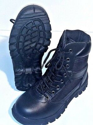 Rothco Black Vietnam Style Jungle Boots 2R, Excellent, Free Shipping