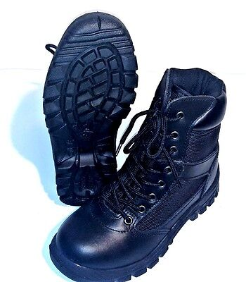 Rothco Black Vietnam Style Jungle Boots 1R Excellent, Free Shipping