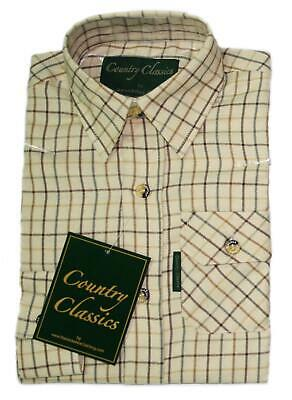 Country Classics Boys/Girls Long Sleeve Country Check Shirt Balmoral