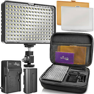Altura Photo® 160 LED Camera Light - Dimmable Video Light Panel for DSLR Camera