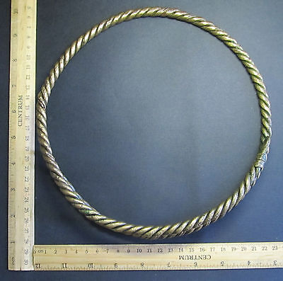 Ancient Viking Neck Torc. (2). Cleared.