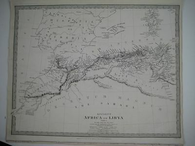 1840 SDUK: Map of Ancient Africa or Libya part I