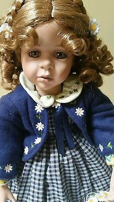Marie Osmond Toddler 2002  Kesti with  Scandinavian Outfit doll Joke Grobben