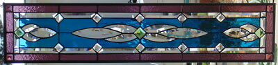 Stained Glass window hanging 44 1/2 X12 1/2""