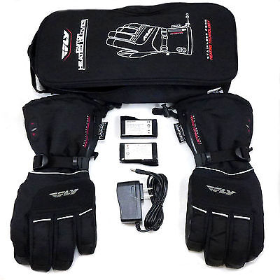 Fly Racing Ignitor-2 Heated Gloves Snow Ski Snowboard Snowmobile Winter Outdoor