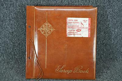 Vintage Scrapbook With Photos And Articles From 1962 Durango High School