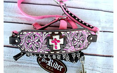 Noseband Tack Bronc Leather HALTER Tiedown Lead Rope  280636