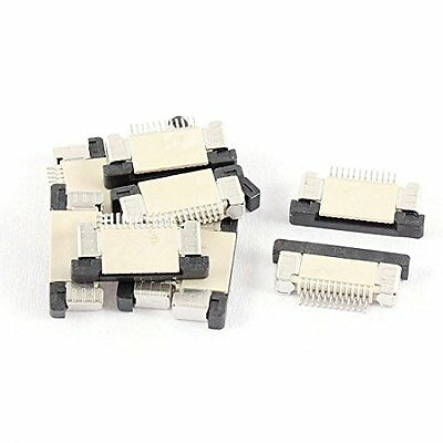 uxcell Bottom Connect 12Pin 0.5mm Pitch FFC FPC Ribbon Socket Connector 10Pcs