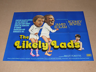 Original THE LIKELY LADS Quad Film Poster (B) - James Bolam & Rodney Bewes