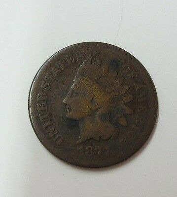 1877 Indian Head Cent G (KEY DATE)