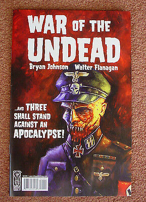 Issue #1 War Of The Dead Graphic Novel Nazi Ss Zombies Werewolves Vampires