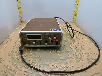 Magnetic Instrumentation inc ML-400D Maglab gaussmeter mag lab  (2*O-18.5)