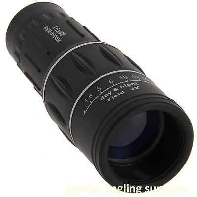 Monocular 16 x 52 With Case Birdwatching , Fishing , Shooting Outdoor Camping