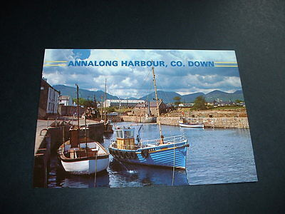 NORTHERN IRELAND ANNALONG HARBOUR Co DOWN  POSTCARD NOT POSTED