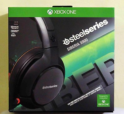 BRAND NEW SteelSeries Siberia X800 Wireless Dolby 7.1 Gaming Headset 100% SELLER