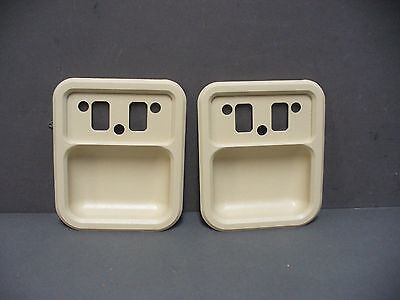 68 69 Ford Falcon Fairlane Torino door handle cups parchment 69 Galaxie
