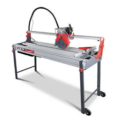 Tile & Stone Cutter Electric Wet Saw - Rubi Tools DX250 1400mm