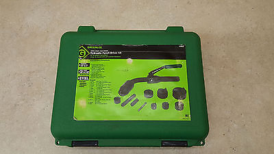 Great Condition Greenlee 7706Sb Quick Draw Flex Hydraulic Knockout Punch Set