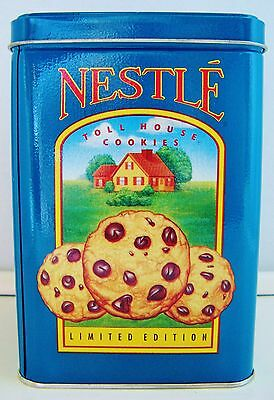 'Nestle Toll House' Cookie Morsels Limited Edition Metal Tin w/ Lid - EUC